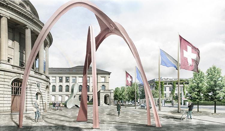 Sanierung ETH Hauptgebäude – Vorplatz und Rämihofgarage, Zürich, 2015
