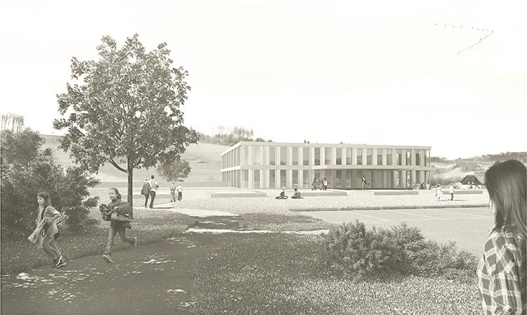 Schule und Sport im Ried, Köniz, 2014