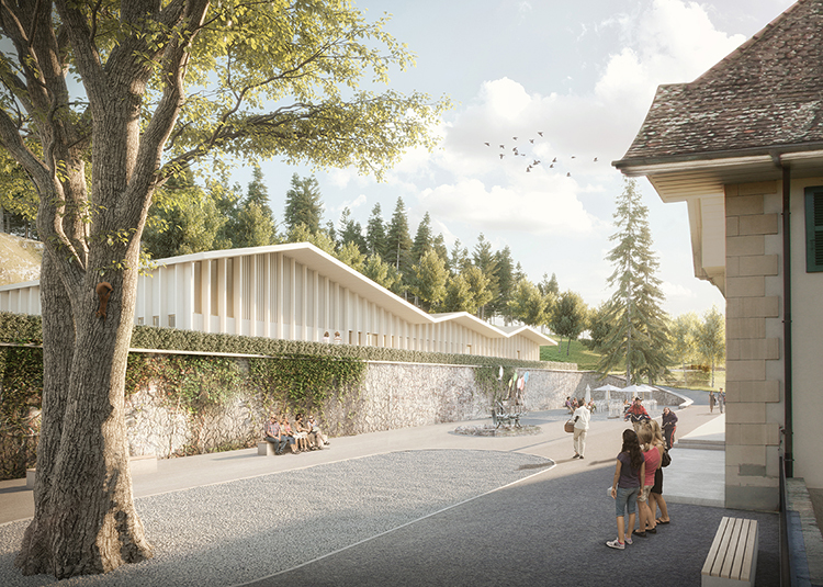 3. Rang / 3. Preis Erweiterung und Instandsetzung Stiftung Brüttelenbad, Projektwettbewerb auf Einladung  mit Brügger Architekten