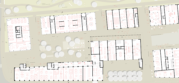 Siegerprojekt Studienauftrag auf Einladung, Arealentwicklung Suttergut Nord, 2015