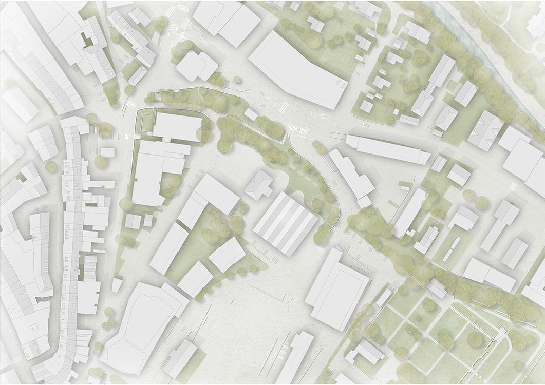 """2. Rang  / 2.Preis Wettbewerb """"Erweiterung Primarschule Gestadeck Liestal"""" mit Morscher Architekten"""