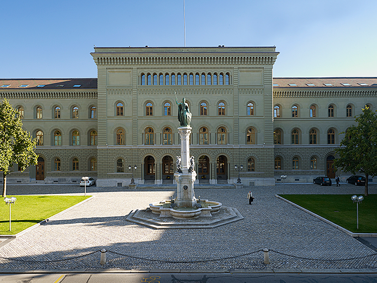 Bundeshaus West, Bern, 2010