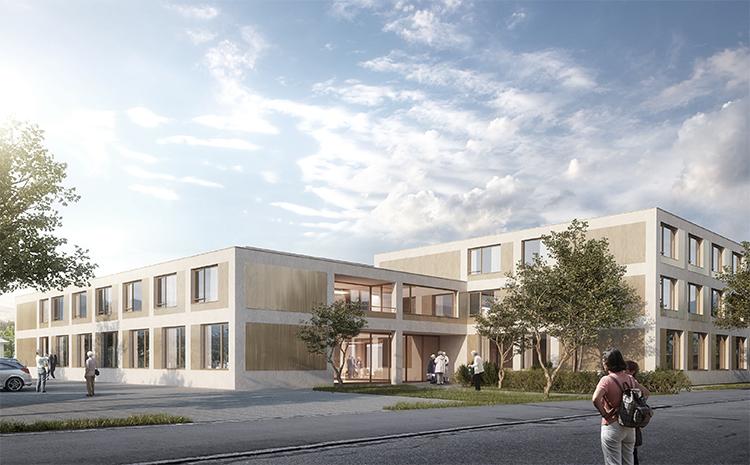 1. Rang / 1. Preis Projektwettbewerb auf Einladung Alters- und Pflegeheim, Köniz, 2015