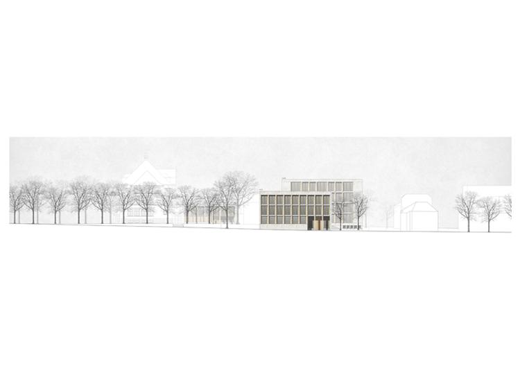 1. Rang / 1. Preis Neubau Gemeindezentrum, Pratteln, 2019