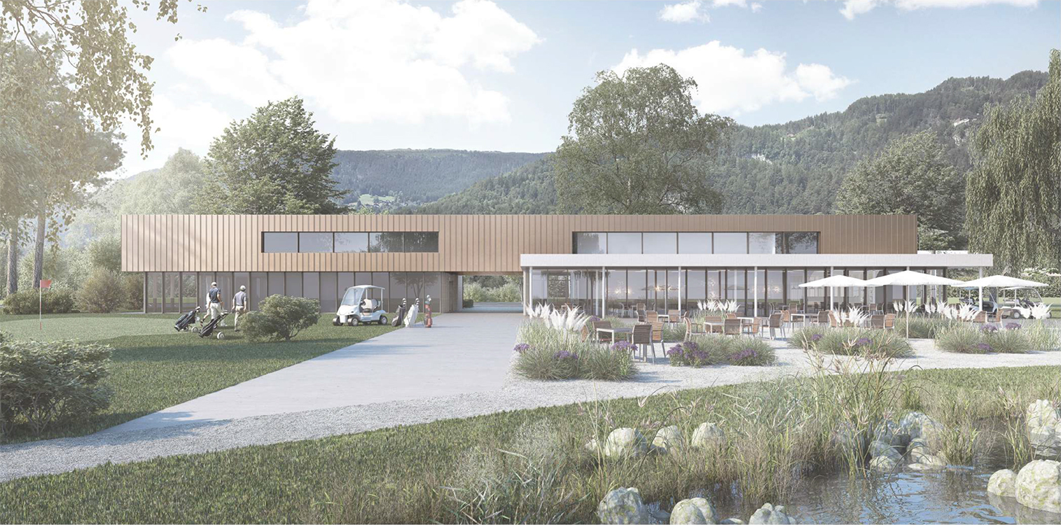 """Projektwettbewerb auf Einladung """"Erneuerung Clubgebäude GCIU"""" ,2016"""
