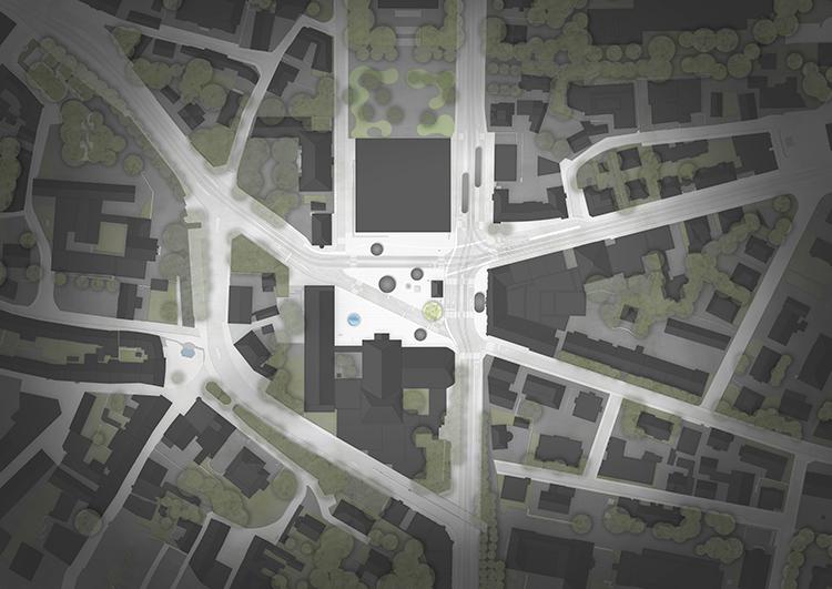 Neugestaltung Heimplatz, Zürich Studienauftrag