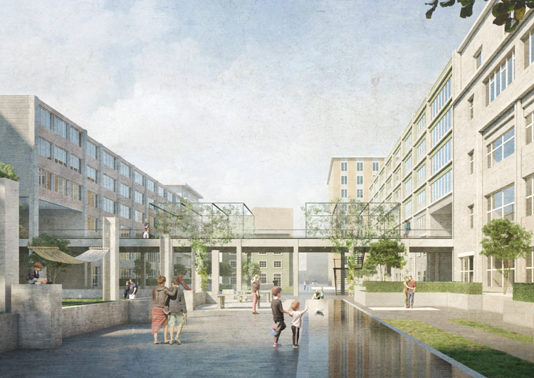 Testplanung Entwicklung WIFAG Areal, Bern, 2019