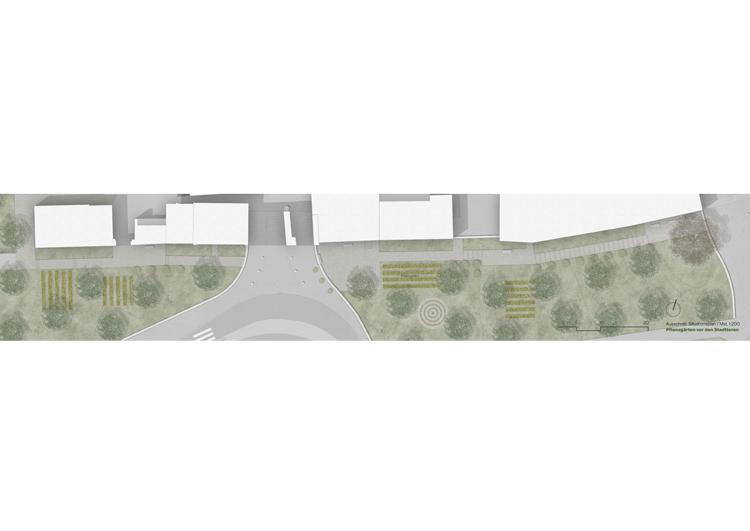 3. Rang / 3. Preis Projektwettbewerb im selektiven Verfahren «Eingangspforten Sempach, Fokus Luzerner Tor»