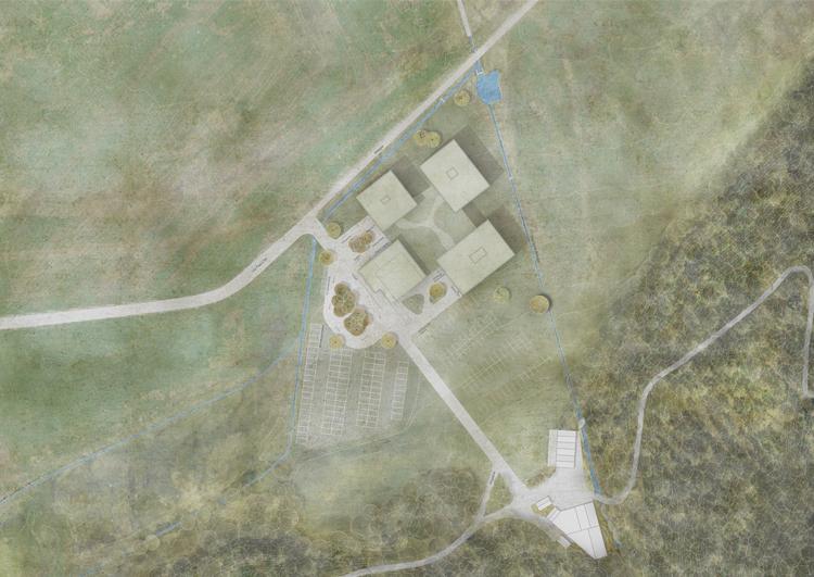 2. Rang  / 2.Preis Projektwettbewerb 'Hotel Furtschellas'