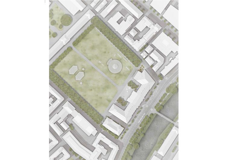 2. Rang / 2.Preis Kasernenareal Gesamtinstandsetzung und Umnutzung der Militärkaserne, Zürich