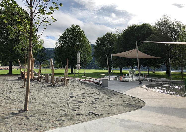 Fertigstellungsarbeiten Strandbad Thun 3. Etappe