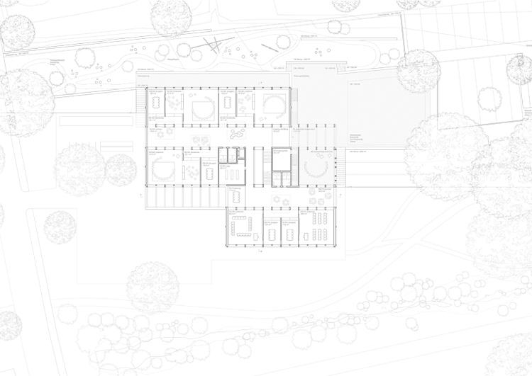 1. Rang / 1. Preis Sanierung, Umnutzung Wysslochgut; 3.Rang / 3. Preis Neubau Volksschule und Stadtteilpark Wyssloch, Bern