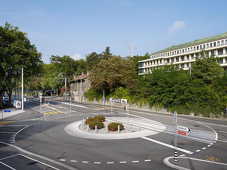 Tram Bern West, Abschnitt Holligen, Bern, 2010