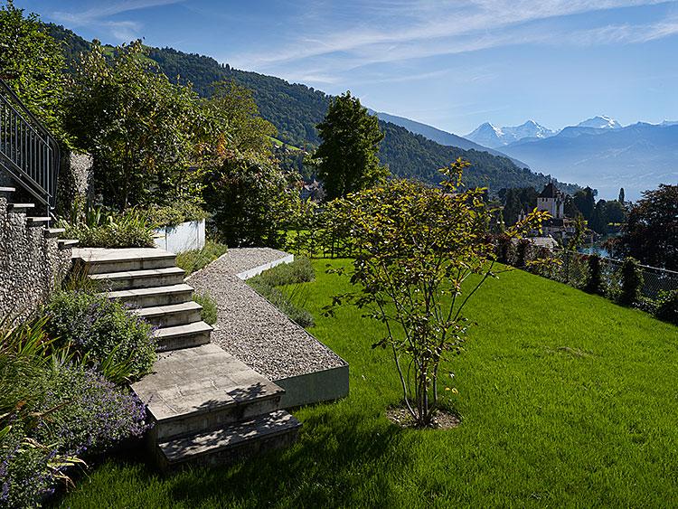 Privatgarten, Oberhofen, 2007