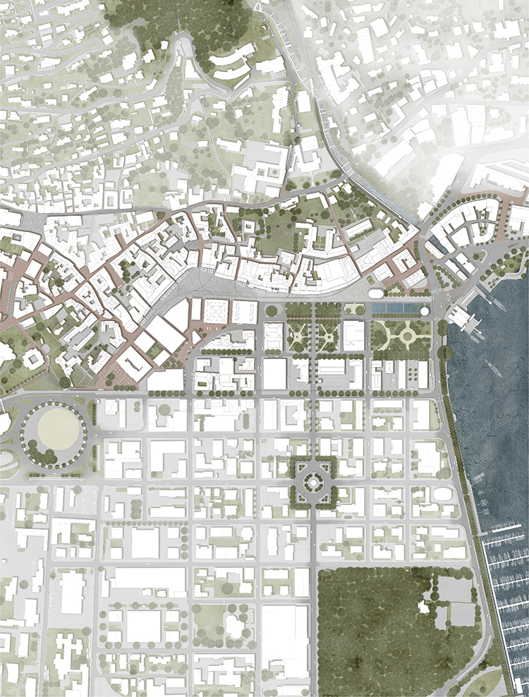 Sistemazione spazi pubblici del centro urbano, Locarno