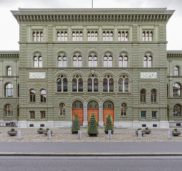 Gesamtsanierung Umgebung Bundeshaus, Bern, 2018