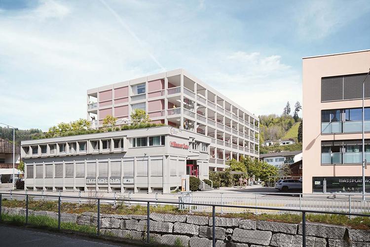 2. Rang / 2. Preis Neubau Willisauer Bote