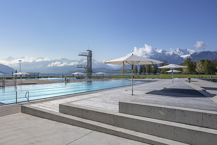 Strandbad Lachen, Thun, 2021